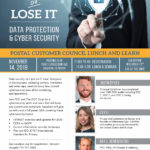 Postal Customer Council Flyer - Data Protection Lunch and Learn on November 14